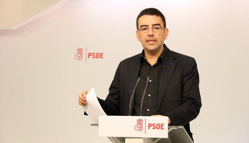 """Jiménez: """"Hay una remontada clara y sostenida del PSOE"""""""