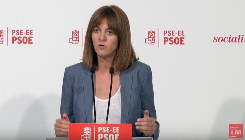 Intervención de Idoia Mendia ante el Comité Nacional del PSE-EE